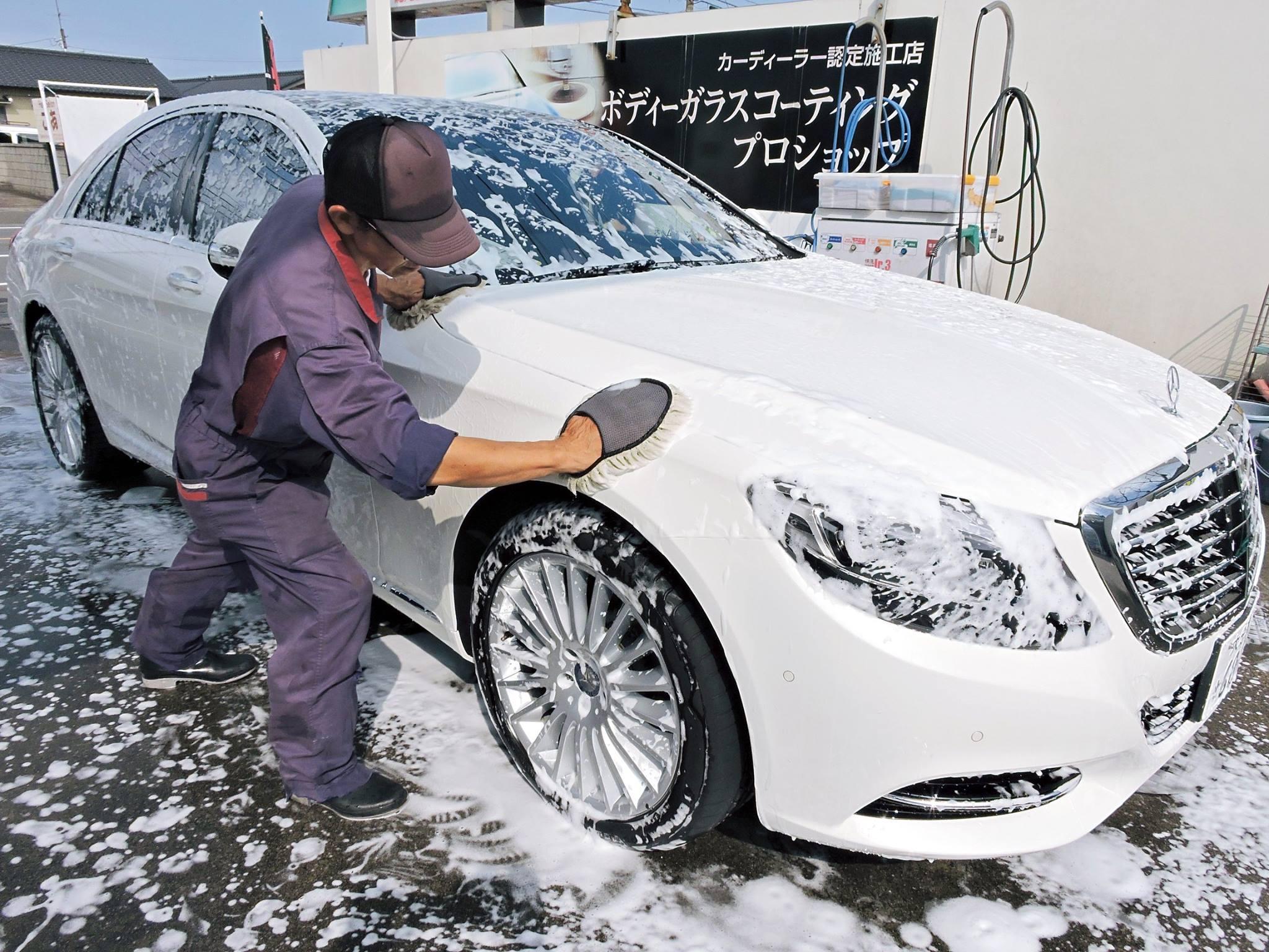 大分のプロの洗車