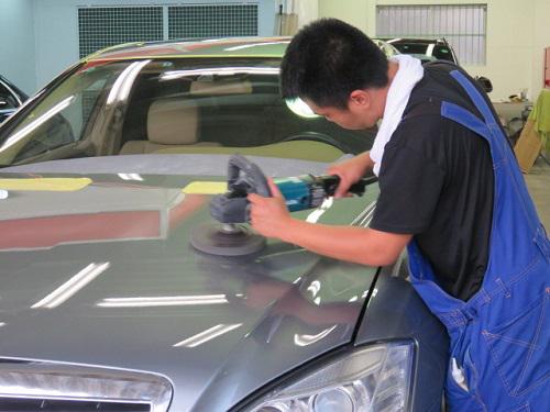 塗装に最良な磨き技術